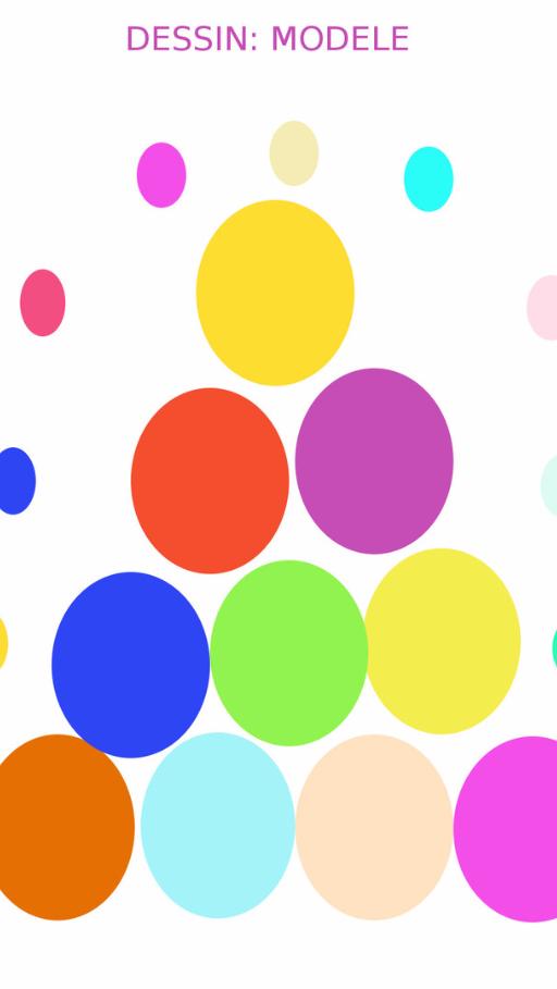 ronds de couleurs