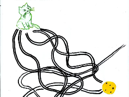 Le chemin de Mascotte
