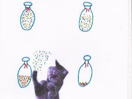 Les sacs de confettis