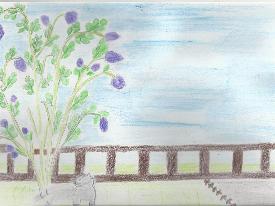 Mascotte sous le lilas