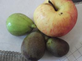 Des figues et des pommes